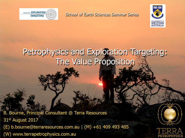 Petrophysics and Exploration Targeting: The Value Proposition
